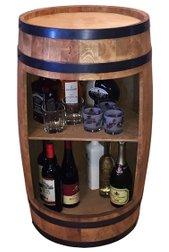 deko weinfass bar kaufen holz weinfass als stehtisch 6 bar stehtische. Black Bedroom Furniture Sets. Home Design Ideas