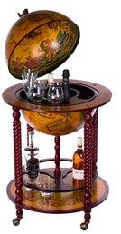 ▻ Weltkugel Bars ++ Globus Minibar Angebote ++ Holz Globus Bar kaufen